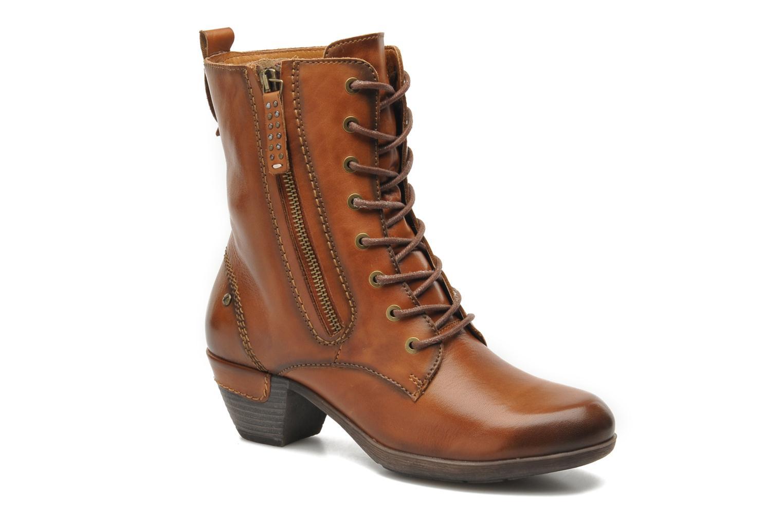 Boots en enkellaarsjes Pikolinos ROTTERDAM 902-7936 Bruin detail
