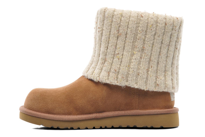 Boots en enkellaarsjes UGG Shea K Beige voorkant