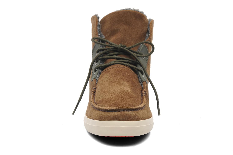 Bottines et boots Camper Motel W 46806 Marron vue portées chaussures