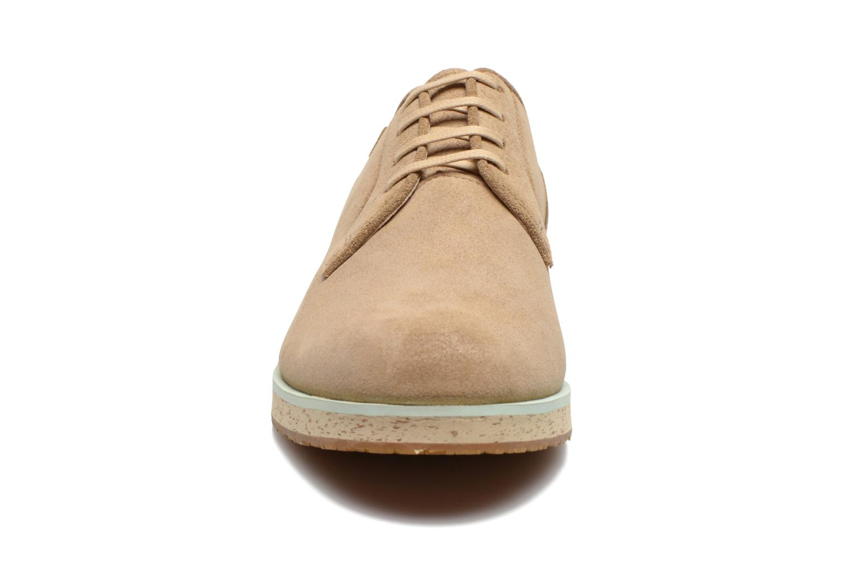 Chaussures à lacets Camper Magnus 18897 Beige vue portées chaussures
