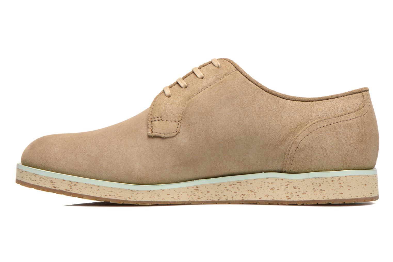 Chaussures à lacets Camper Magnus 18897 Beige vue face