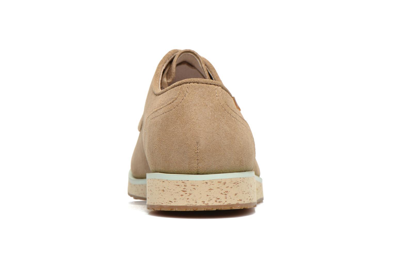 Chaussures à lacets Camper Magnus 18897 Beige vue droite