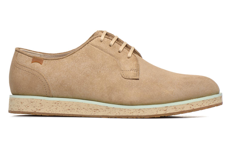 Chaussures à lacets Camper Magnus 18897 Beige vue derrière
