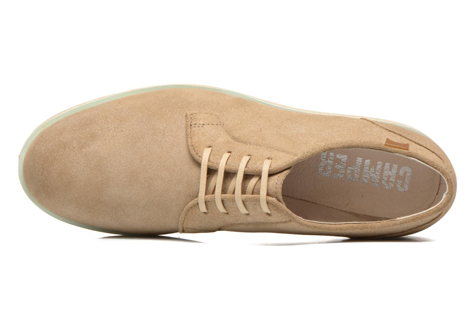 Lace-up shoes Camper Magnus 18897 Beige view from the left