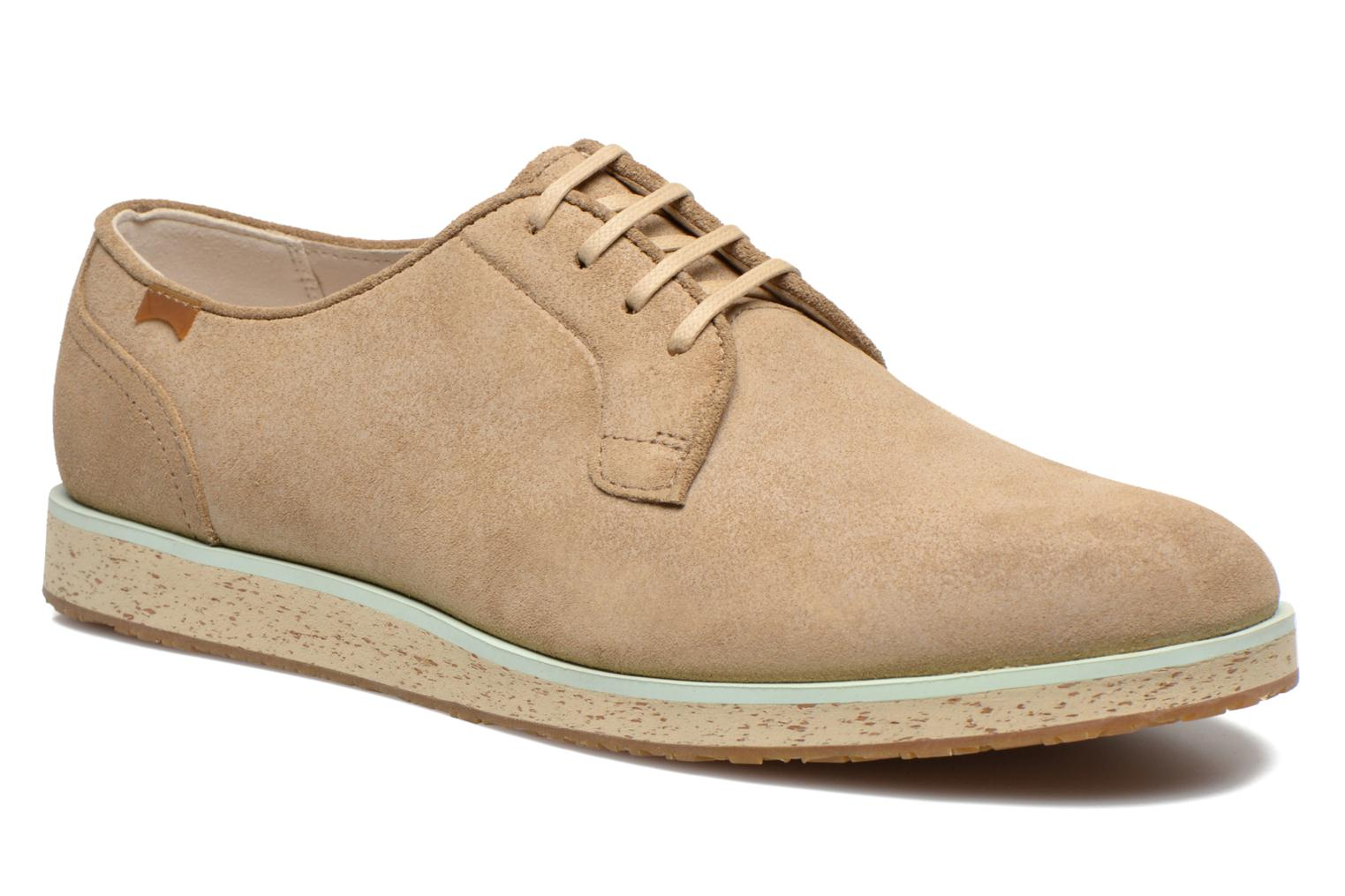 Lace-up shoes Camper Magnus 18897 Beige detailed view/ Pair view