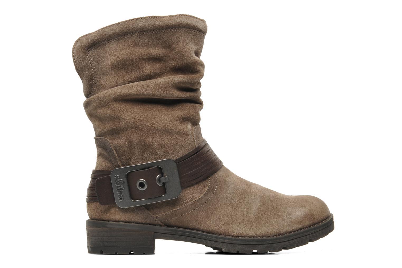 Boots en enkellaarsjes S.Oliver Gaelys Bruin achterkant