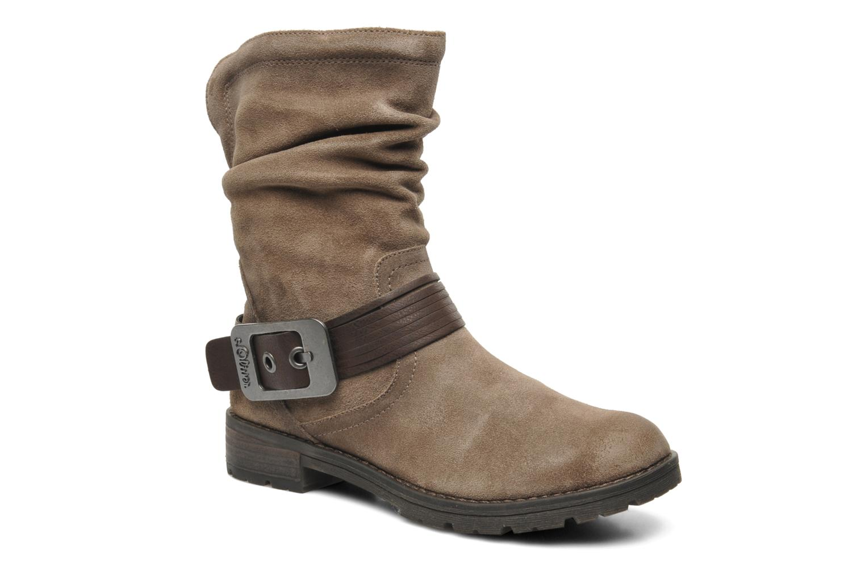 Boots en enkellaarsjes S.Oliver Gaelys Bruin detail