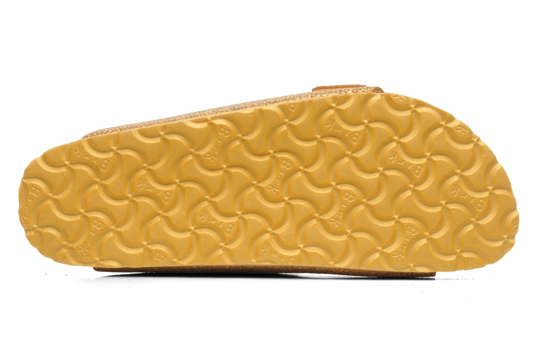 Clogs & Pantoletten Birkenstock Arizona Cuir W gold/bronze ansicht von oben