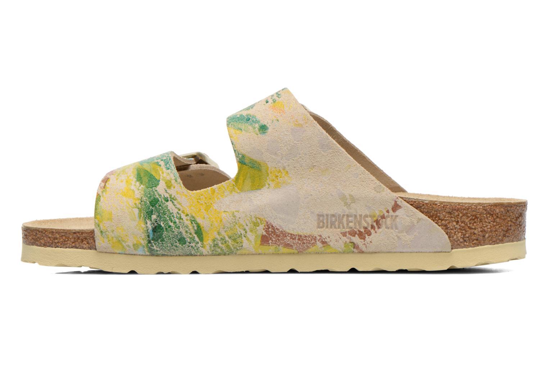Wedges Birkenstock Arizona Velours W Multicolor voorkant