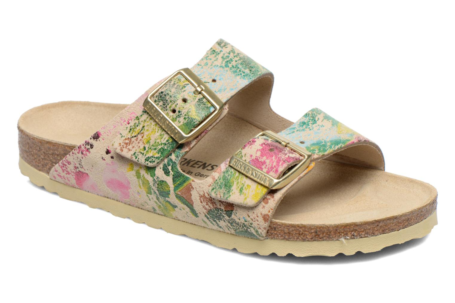 Arizona Velours W Flower Crush Beige