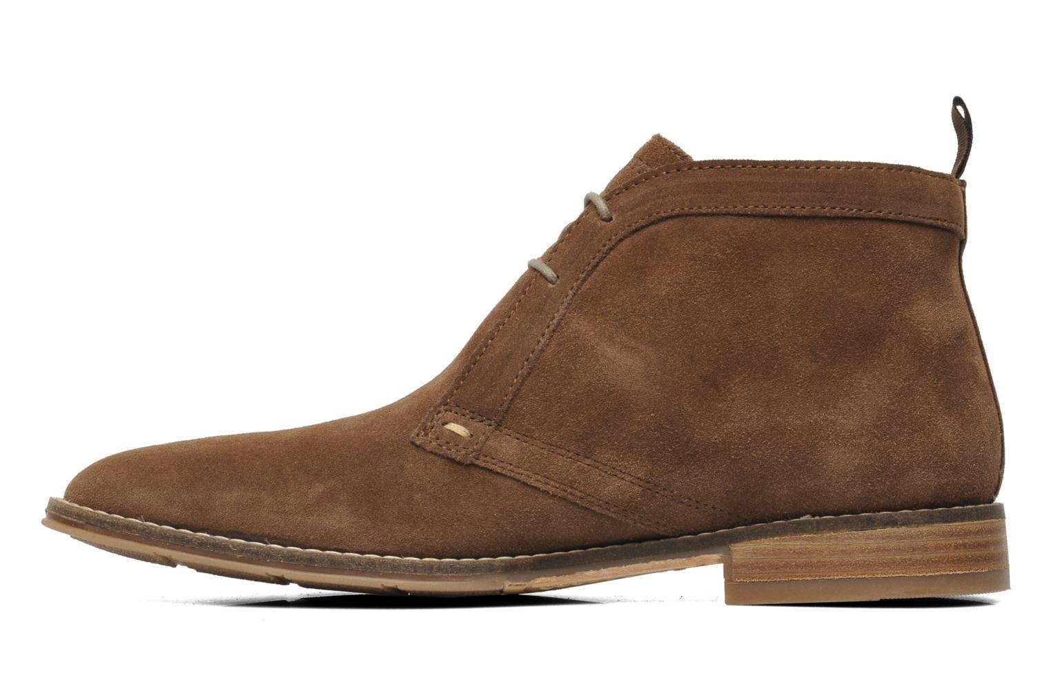 Chaussures à lacets Hush Puppies Style Chukka Marron vue face