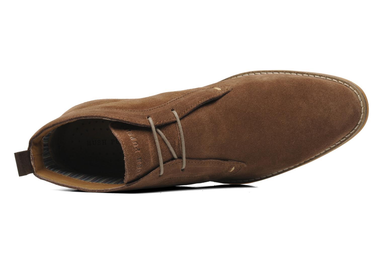Chaussures à lacets Hush Puppies Style Chukka Marron vue gauche