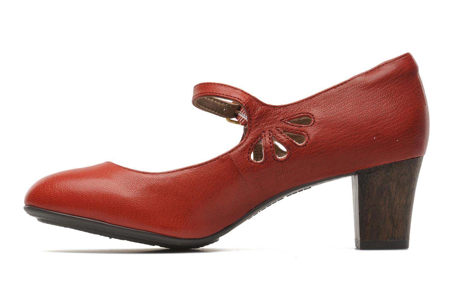 Imagery Mary Jane Red Leather