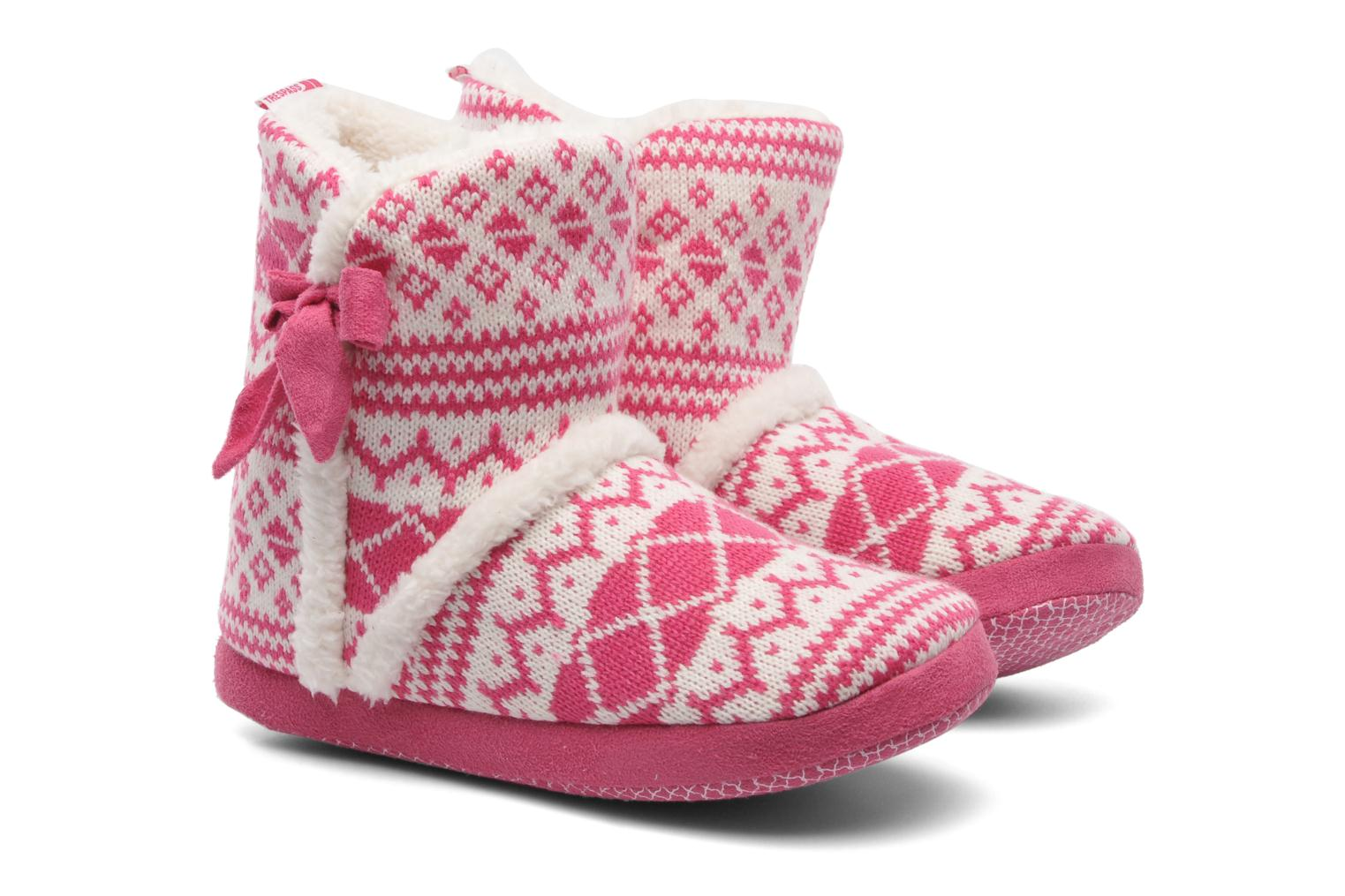 Pantoffels Trespass Happy Feet Roze 3/4'