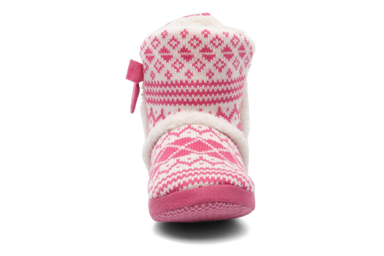 Pantoffels Trespass Happy Feet Roze model