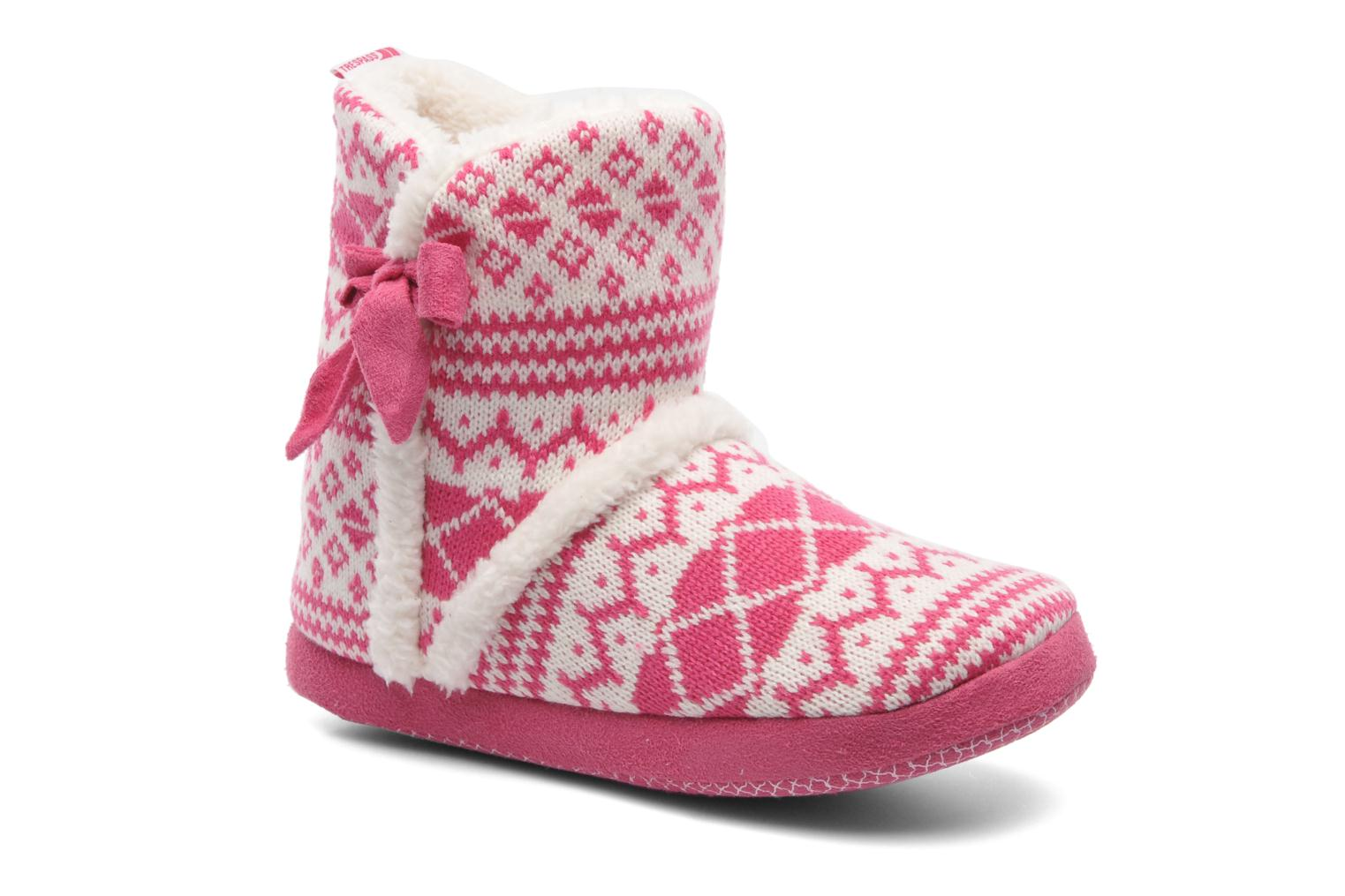 Pantoffels Trespass Happy Feet Roze detail