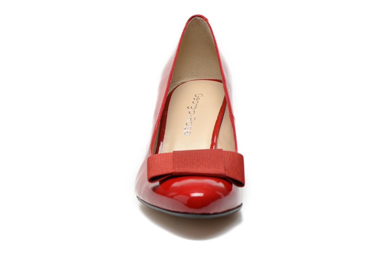 Escarpins Georgia Rose Santoora Rouge vue portées chaussures