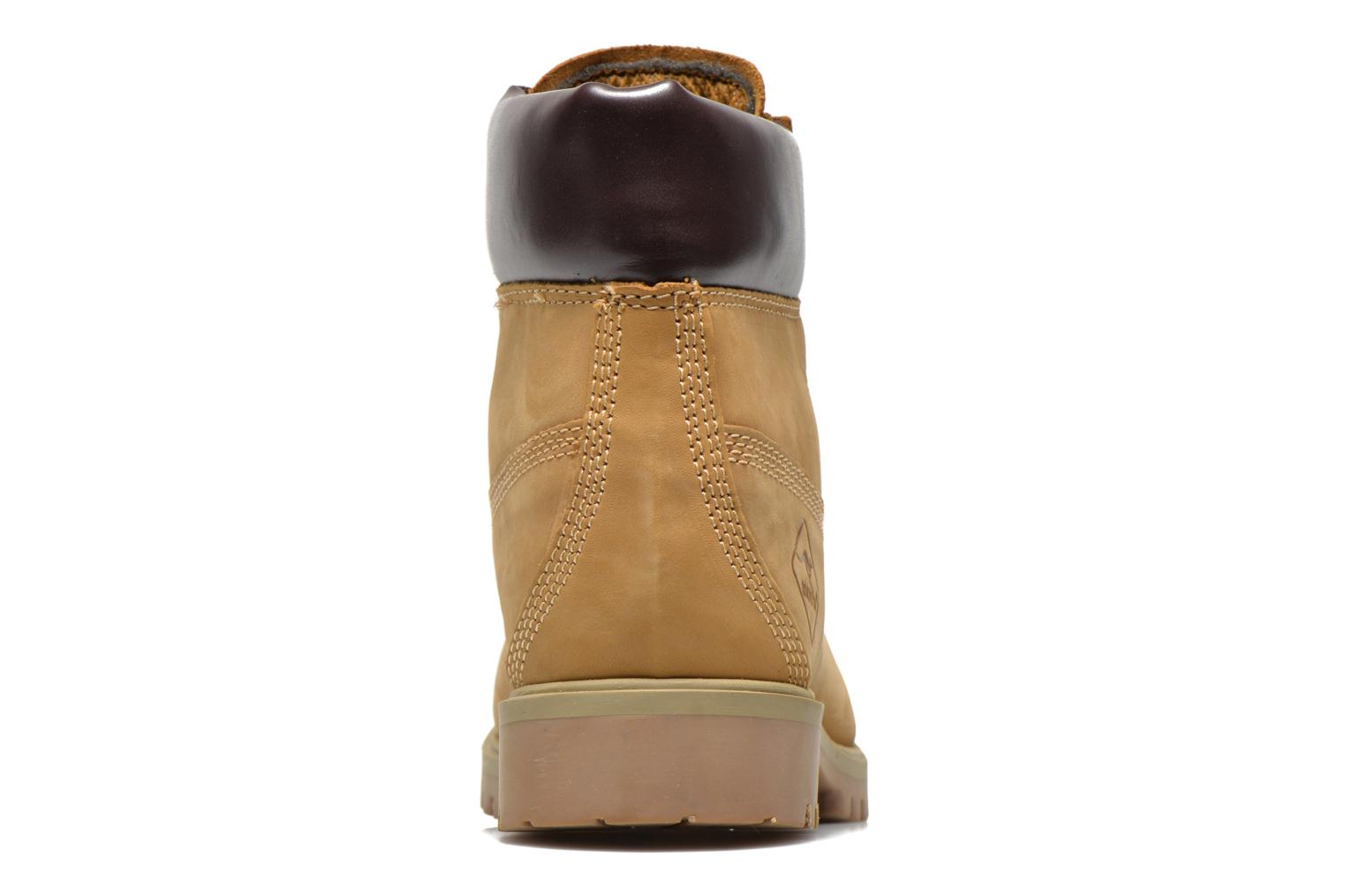Ankle boots Roadsign Road Beige view from the right