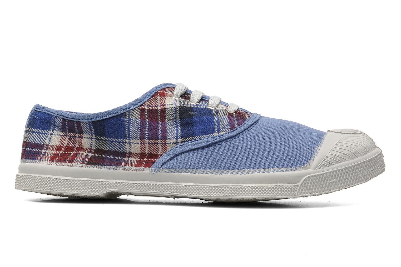 Sneaker Bensimon Tennis Lacets Carreaux Doux blau ansicht von hinten