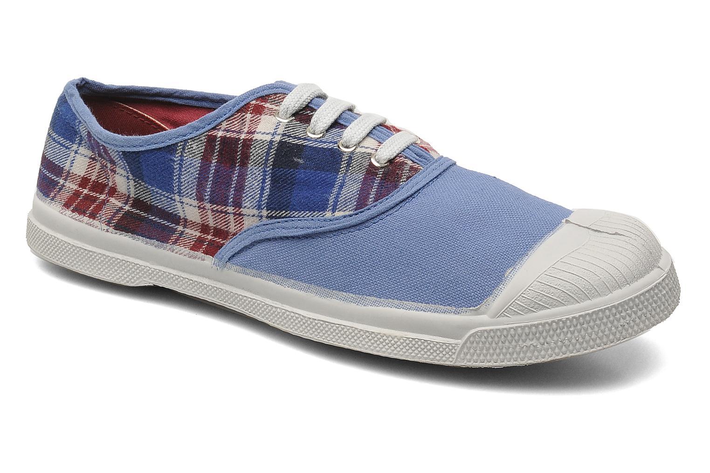 Sneaker Bensimon Tennis Lacets Carreaux Doux blau detaillierte ansicht/modell