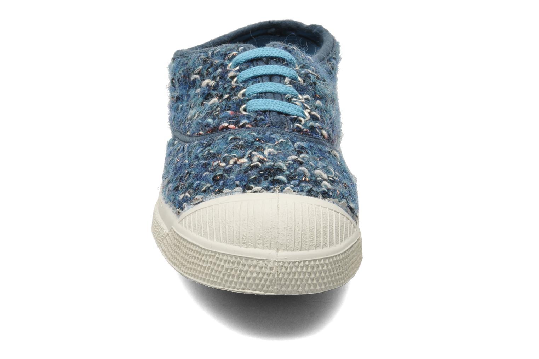 Sneaker Bensimon Tennis Lacets Tweedy blau schuhe getragen