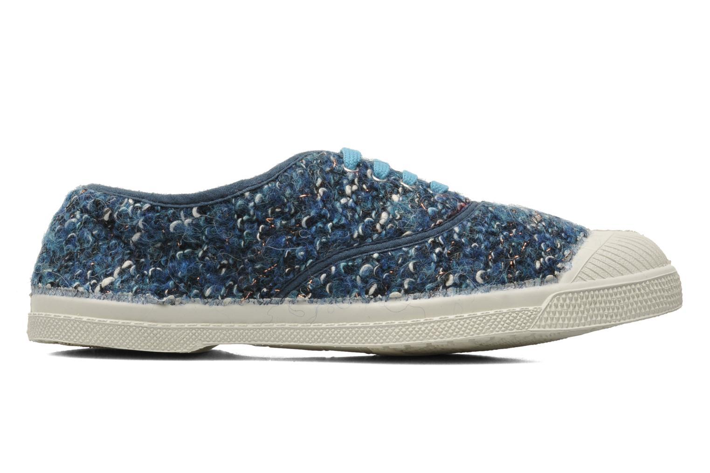 Sneaker Bensimon Tennis Lacets Tweedy blau ansicht von hinten
