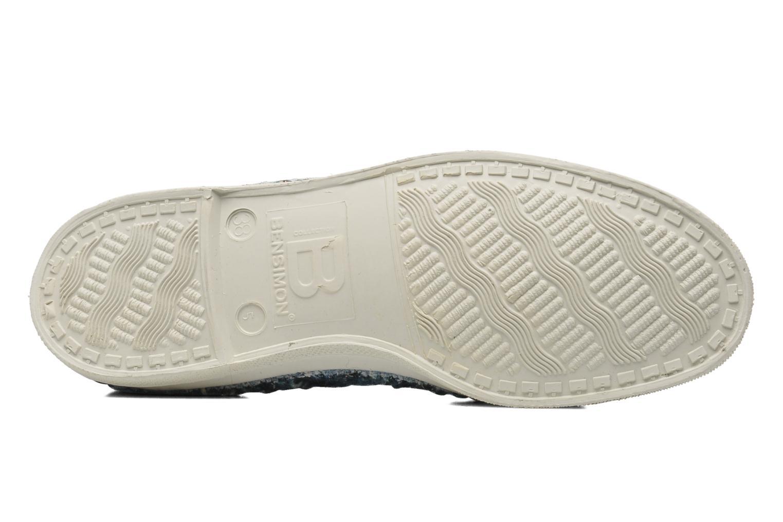 Sneakers Bensimon Tennis Lacets Tweedy Blauw boven