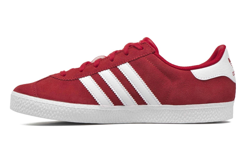Sneakers Adidas Originals Gazelle 2 J Rood voorkant