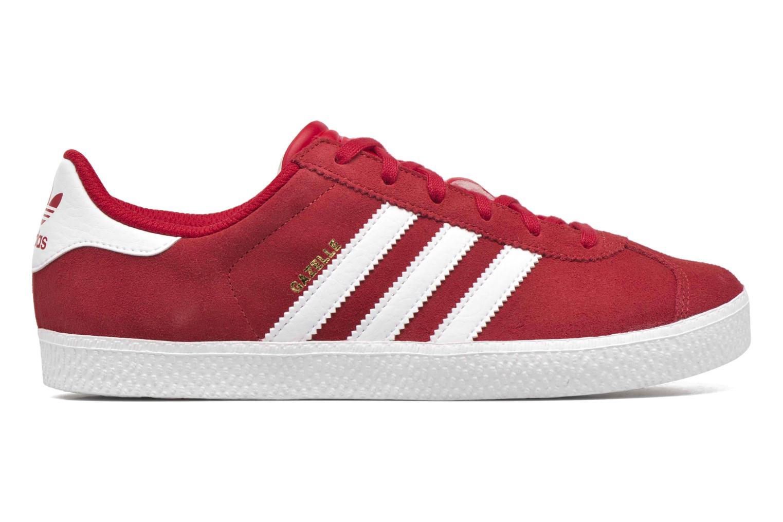 Sneakers Adidas Originals Gazelle 2 J Rood achterkant