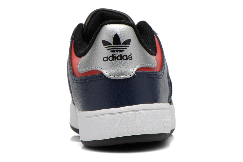 Baskets Adidas Originals Varial J Bleu vue droite