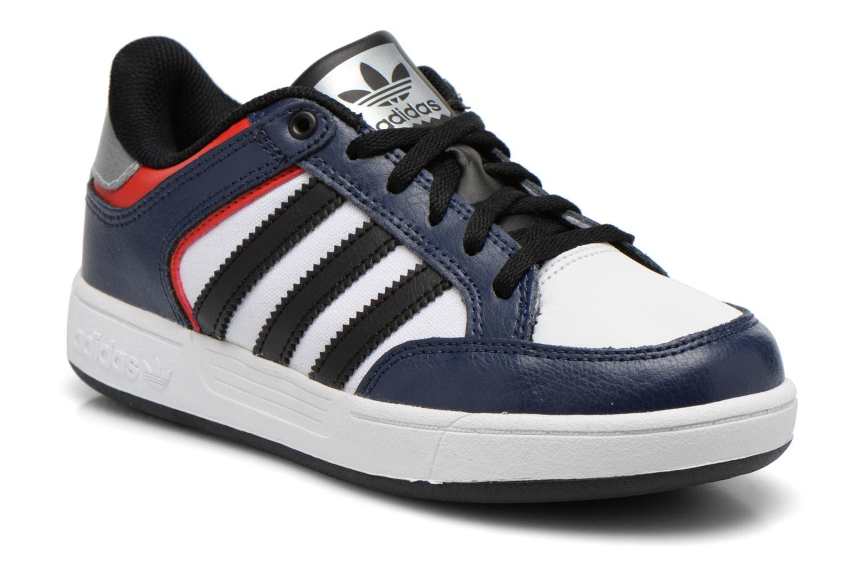 Baskets Adidas Originals Varial J Bleu vue détail/paire
