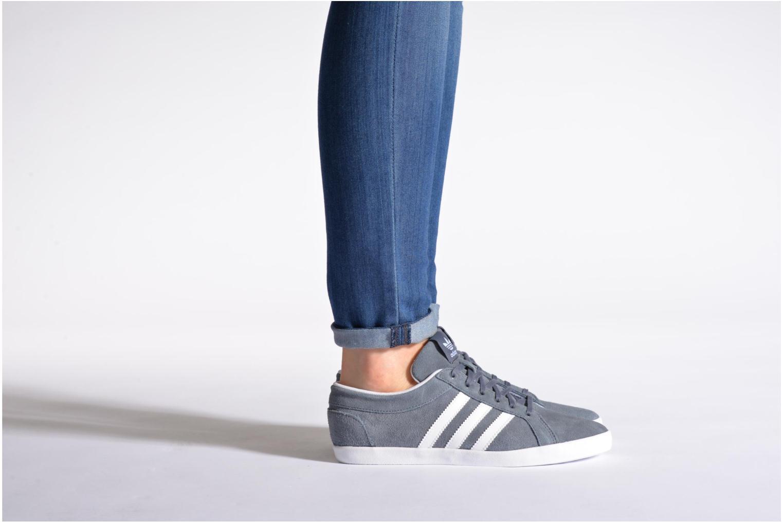 Baskets Adidas Originals Adria Ps 3S W Noir vue bas / vue portée sac