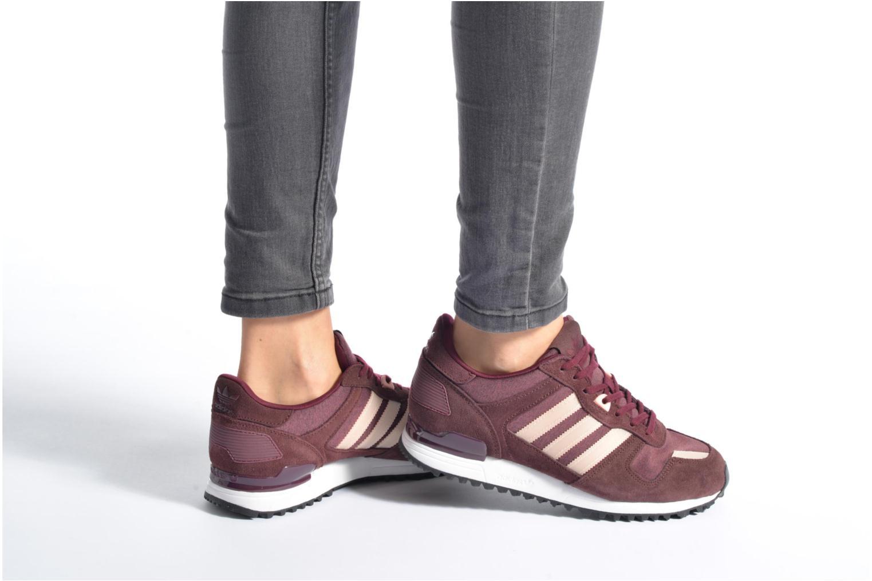 Sneakers Adidas Originals Zx 700 W Rosa immagine dal basso