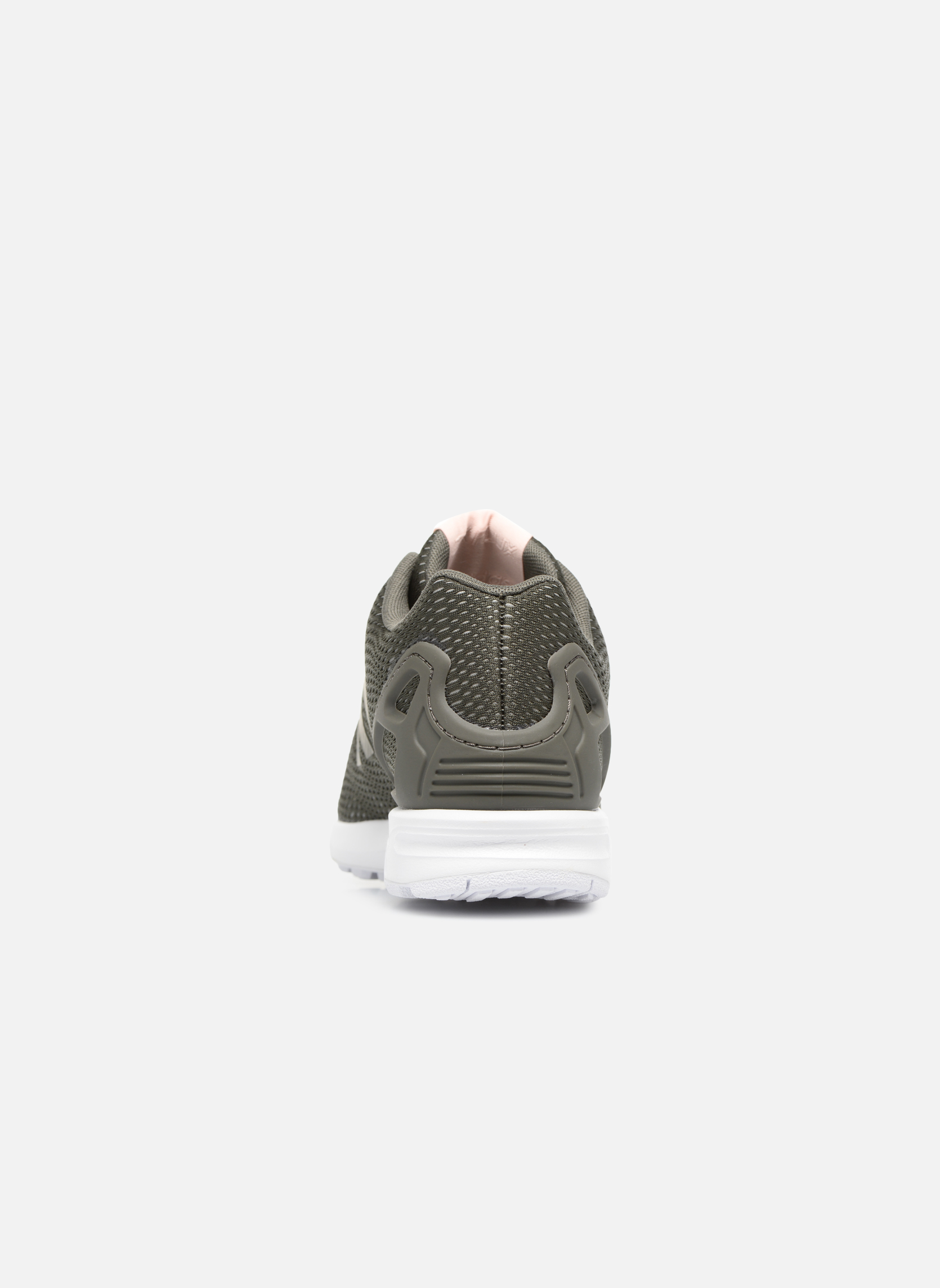 Baskets Adidas Originals Zx Flux W Vert vue droite