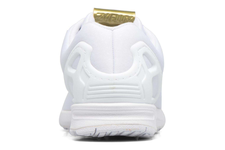 Deportivas Adidas Originals Zx Flux W Blanco vista lateral derecha