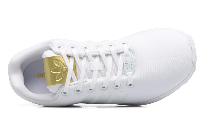 Deportivas Adidas Originals Zx Flux W Blanco vista lateral izquierda