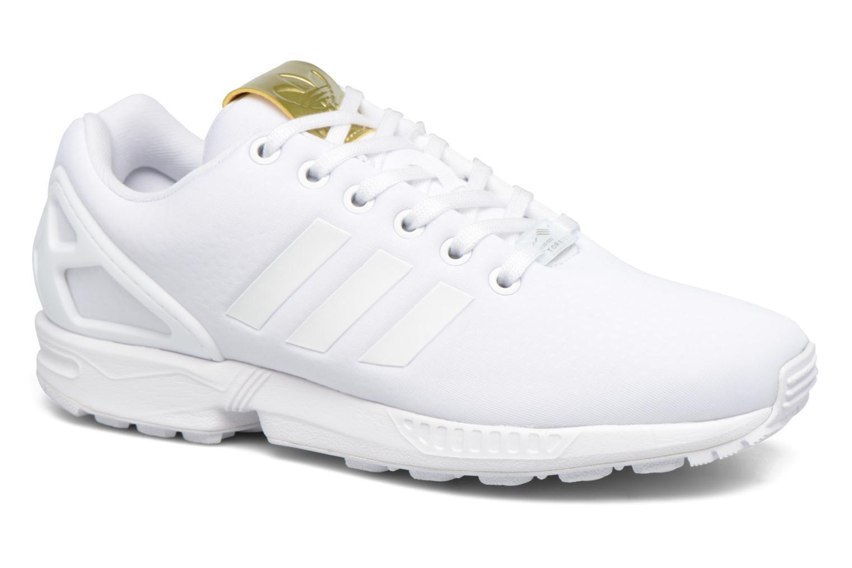 Deportivas Adidas Originals Zx Flux W Blanco vista de detalle / par