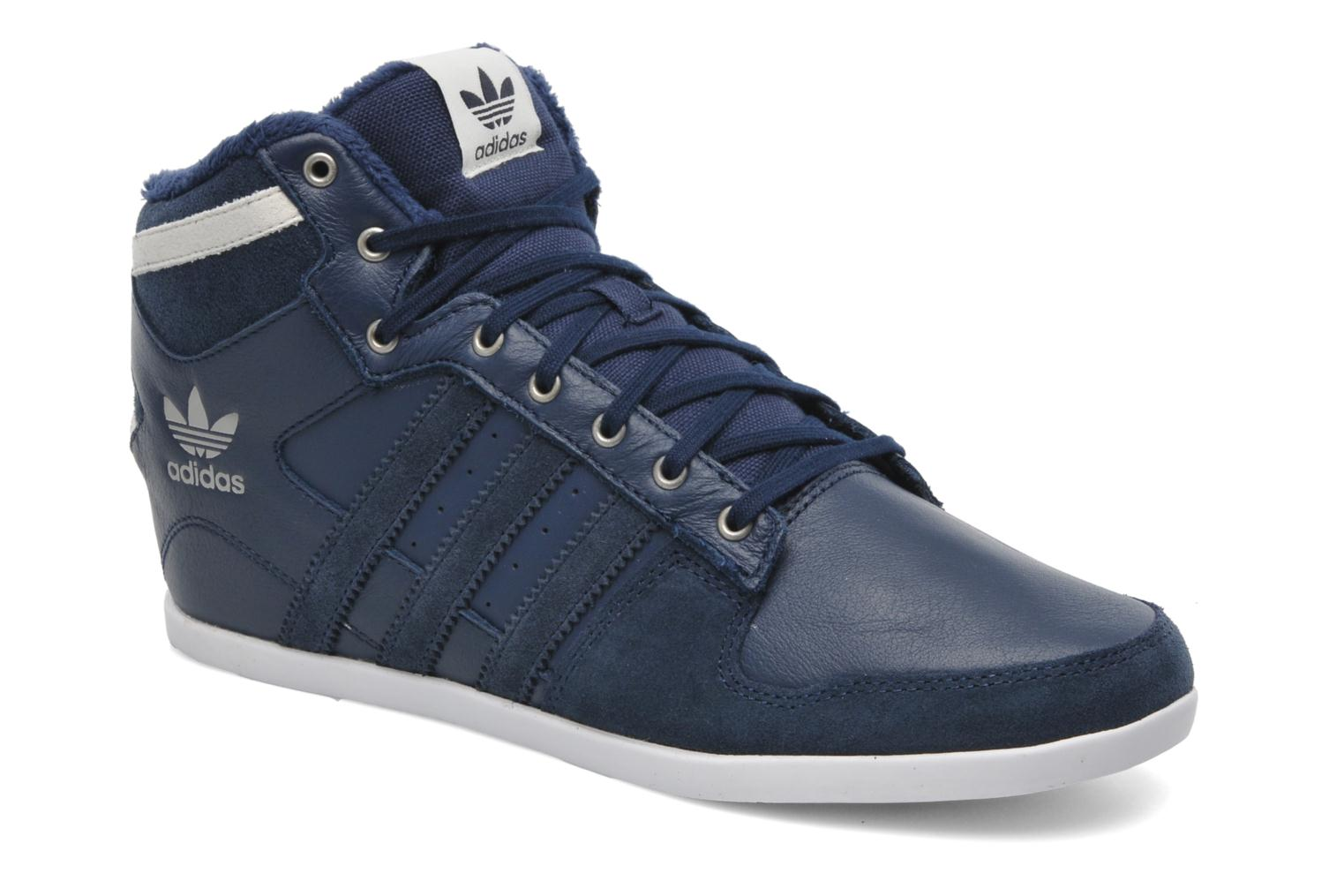 Trainers Adidas Originals Plimcana 2.0 Mid Blue detailed view/ Pair view
