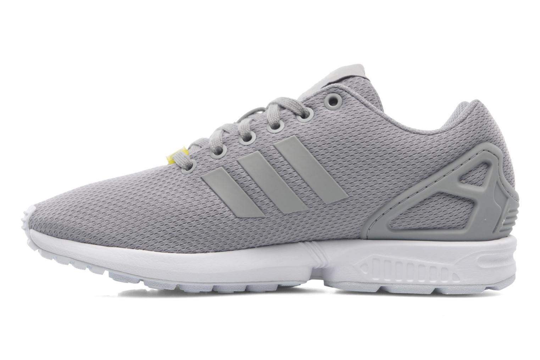 Sneaker Adidas Originals Zx Flux grau ansicht von vorne