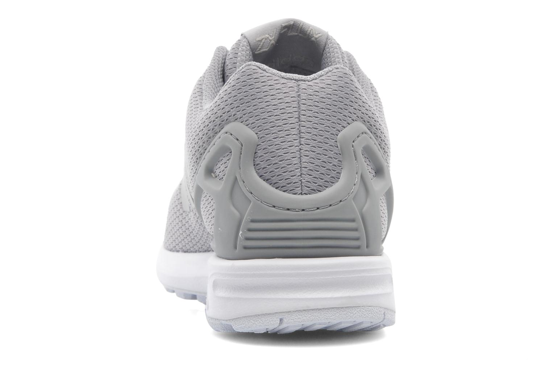 Baskets Adidas Originals Zx Flux Gris vue droite