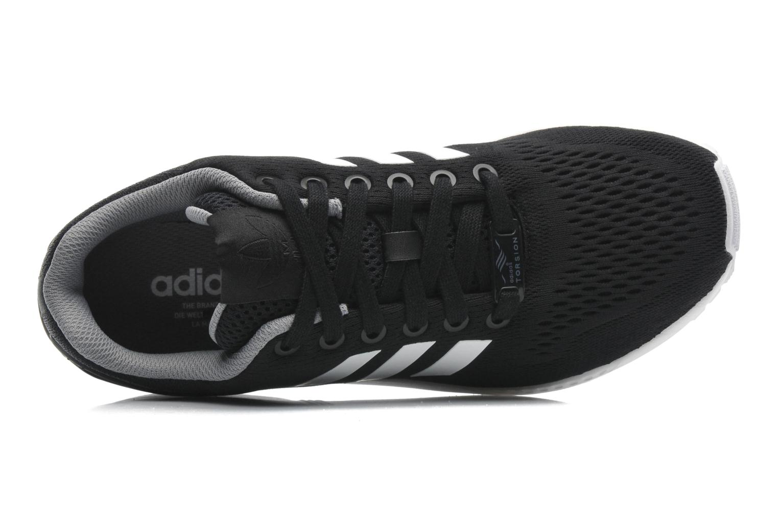 Black 1-Black 1-White Adidas Originals Zx Flux (Noir)