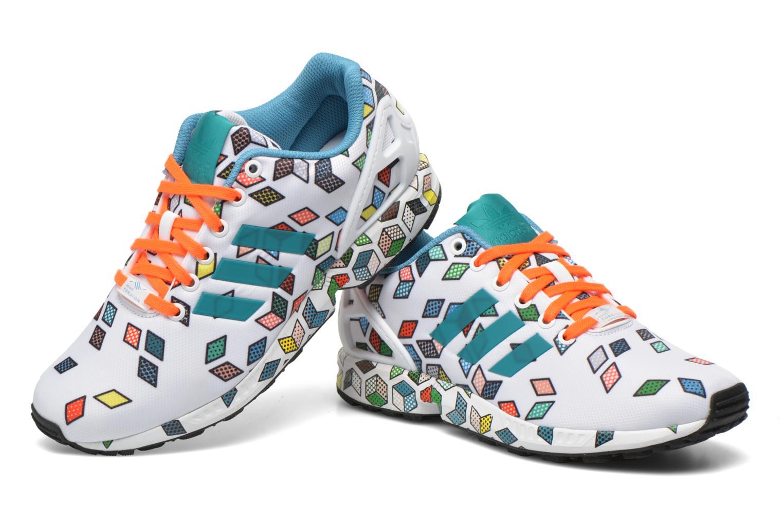 Sneakers Adidas Originals Zx Flux Wit 3/4'