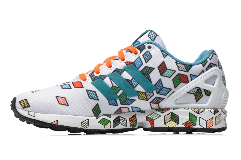 Sneakers Adidas Originals Zx Flux Wit voorkant