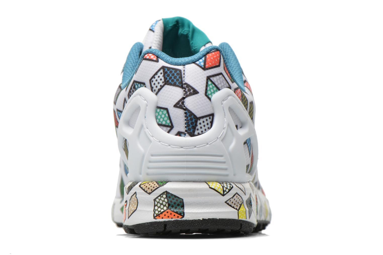 Sneakers Adidas Originals Zx Flux Wit rechts