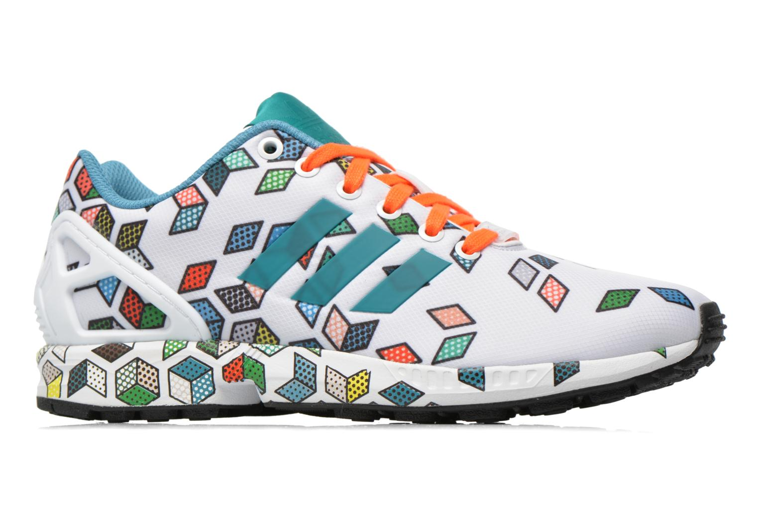 Sneakers Adidas Originals Zx Flux Wit achterkant