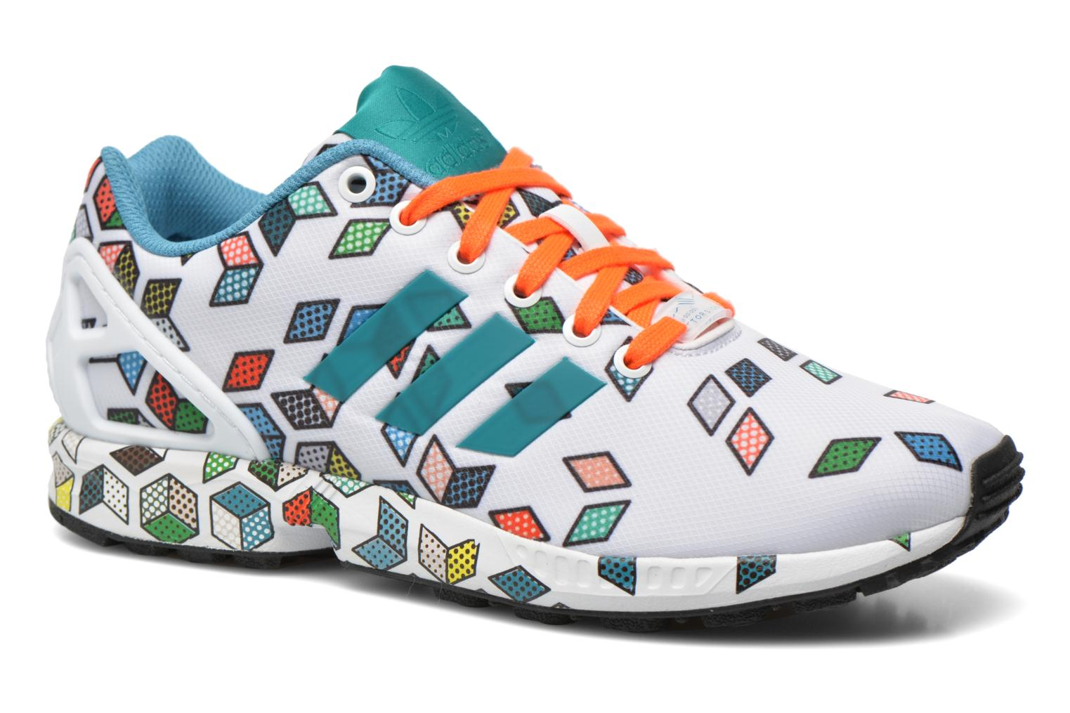 Sneakers Adidas Originals Zx Flux Wit detail