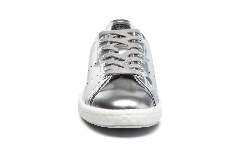 Baskets Adidas Originals Stan Smith W Argent vue portées chaussures