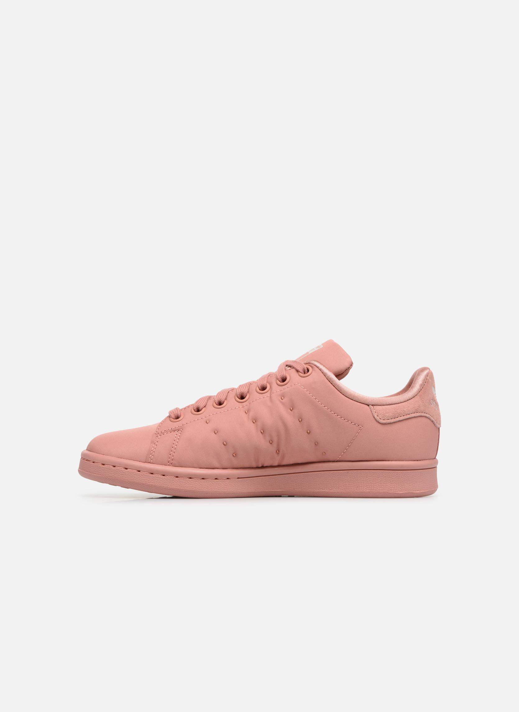 Baskets Adidas Originals Stan Smith W Rose vue face