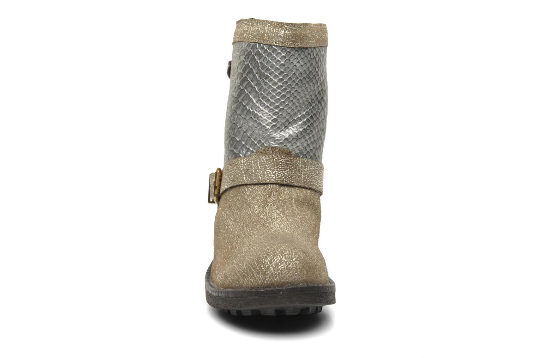 Bottines et boots Les Tropéziennes par M Belarbi Lolita Or et bronze vue portées chaussures