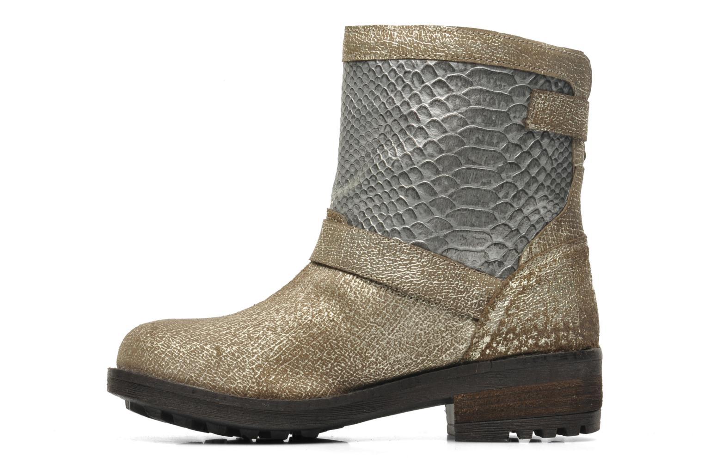 Bottines et boots Les Tropéziennes par M Belarbi Lolita Or et bronze vue face